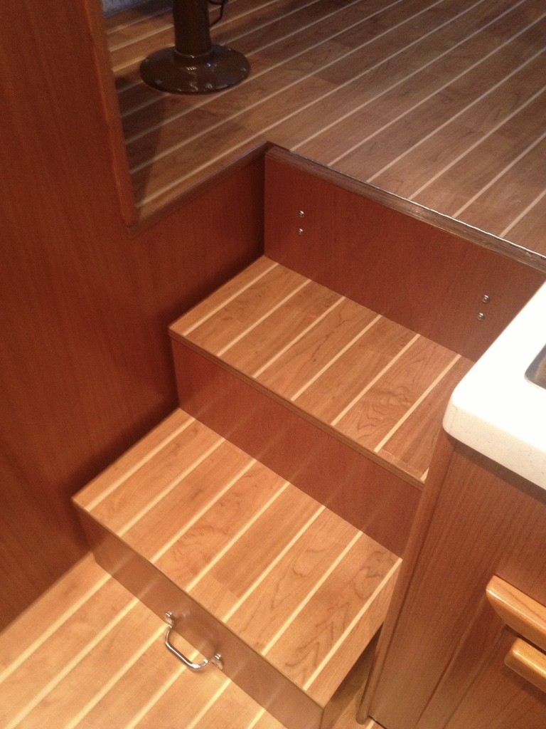 Interior Decking C Flor By Nuteak Tampa Bay Yacht