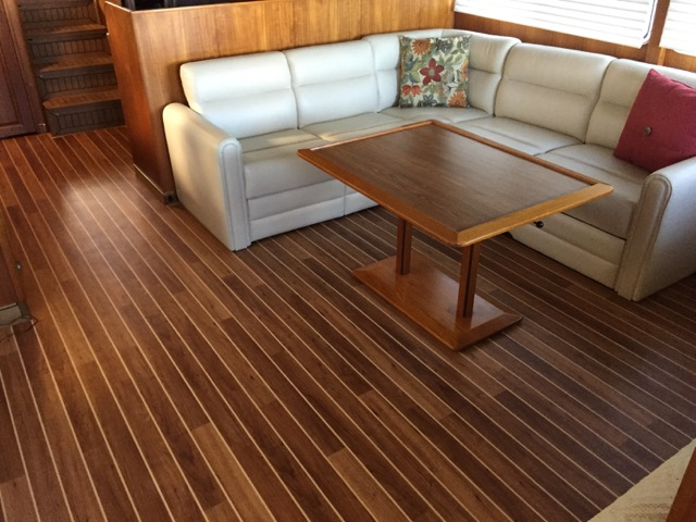 interior decking - c-flornuteak - tampa bay yacht masterstampa
